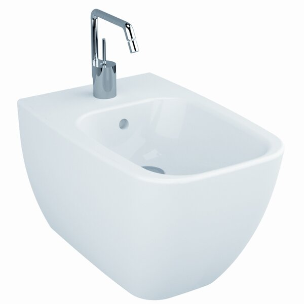 Shift 15.75 Wall Mount Bidet by VitrA by Nameeks