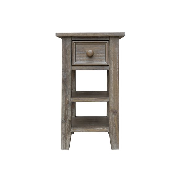 Tribeca End Table With Storage By August Grove