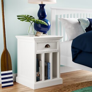 Affordable Amityville 1 Drawer Nightstand ByBeachcrest Home