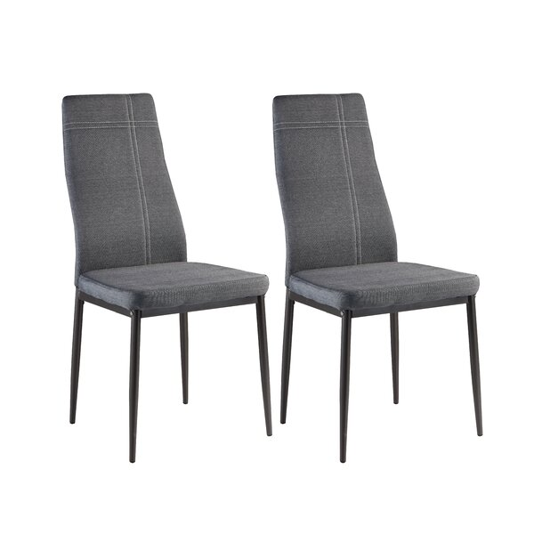 Tremendous Gonzalo Modern Upholstered Dining Chair Set Of 4 By Creativecarmelina Interior Chair Design Creativecarmelinacom