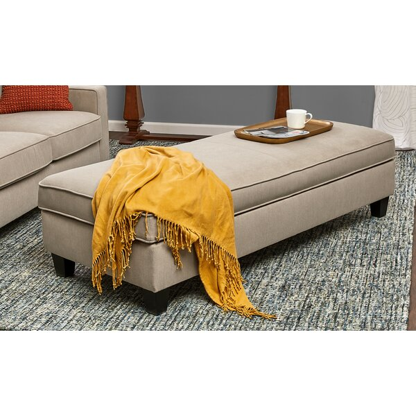 Balance Upholstered Storage Bench by Charlton Home