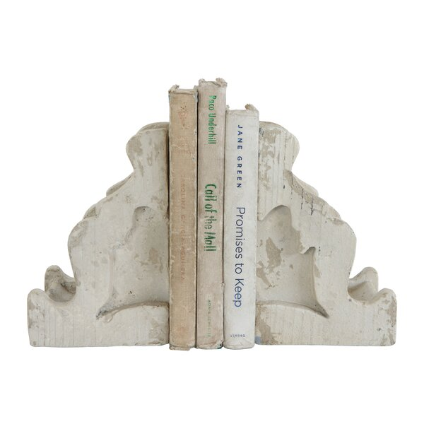Magnesia Corbel Bookends (Set of 2) by Ophelia & Co.