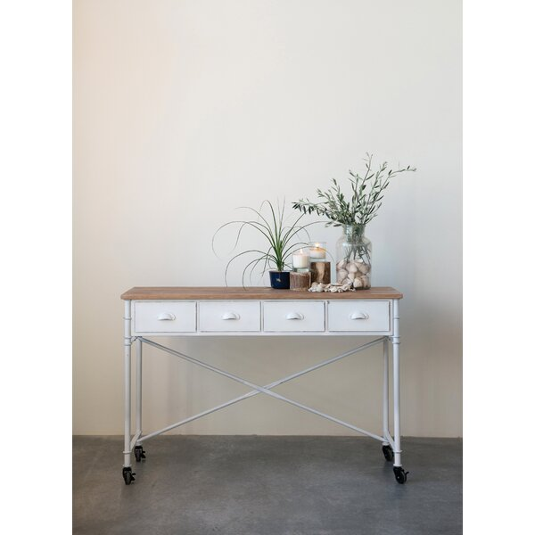 Corentin Metal Console Table By Gracie Oaks