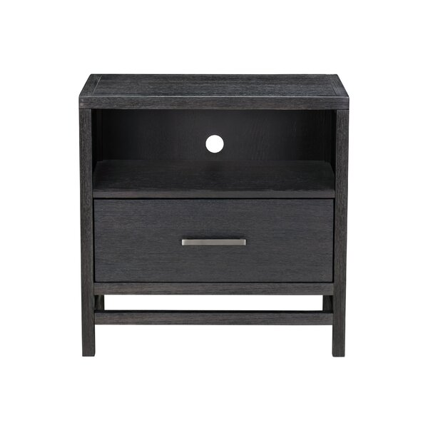 Andreasen 1 Drawer Nightstand by Ivy Bronx