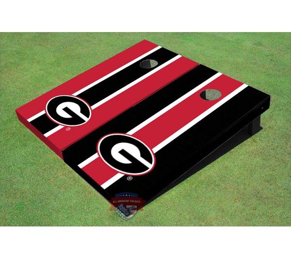 NCAA Long Stripe Cornhole Board (Set of 2) by All American Tailgate
