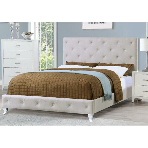 Senath Upholstered Platform Bed by House of Hampton