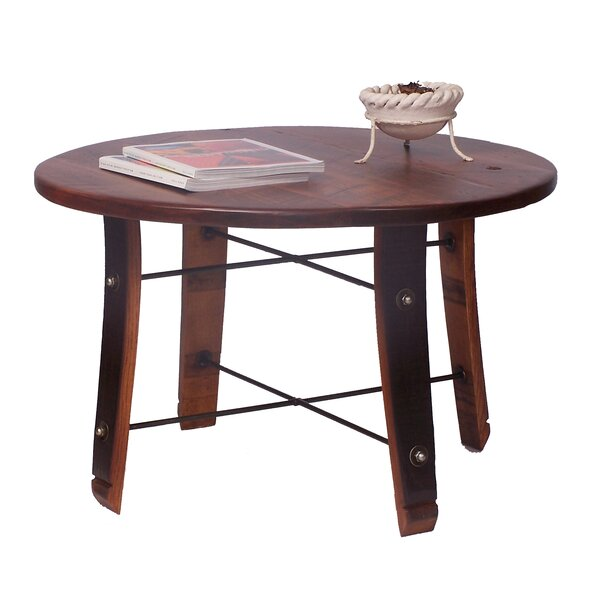Stave Coffee Table by 2 Day Designs, Inc