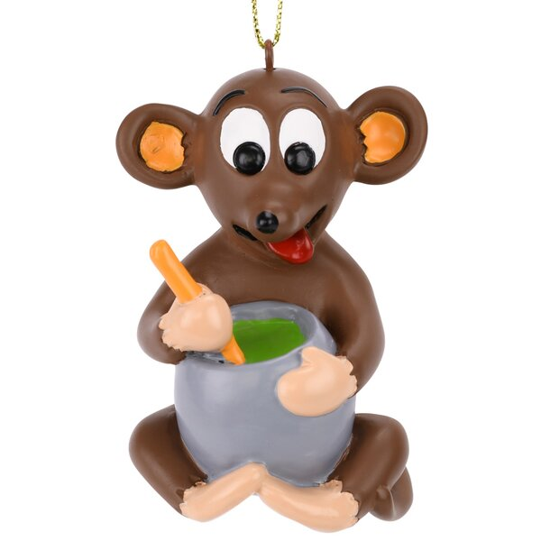 Not Even a Mouse Hanging Figurine by The Holiday Aisle