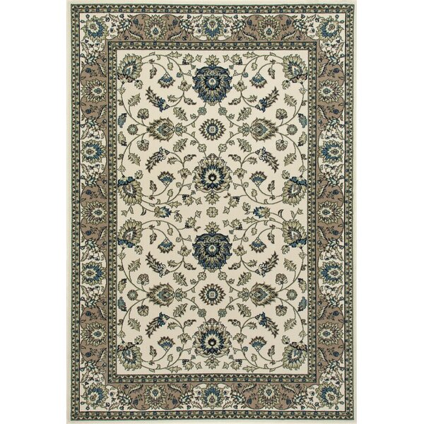 Lang Cream Area Rug by Astoria Grand