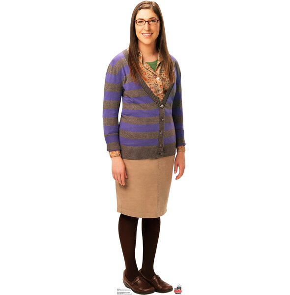Amy - Big Bang Theory Cardboard Stand-Up by Advanced Graphics