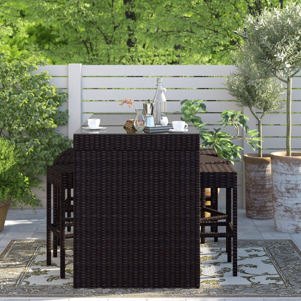 Tegan 7 Piece Bar Height Dining Set by Sol 72 Outdoor