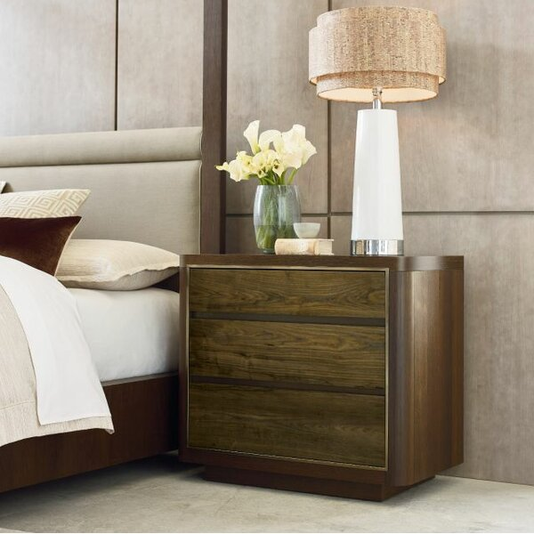 Rita 3 Drawer Nightstand by Foundry Select