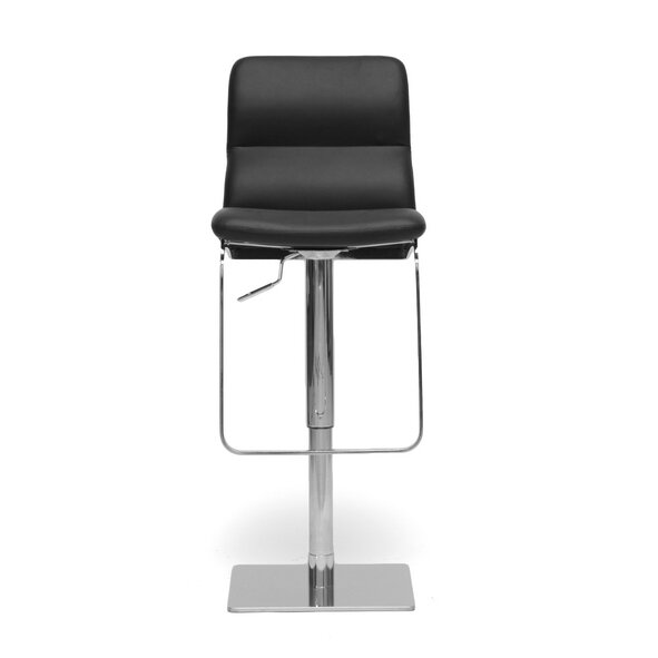 Calla Adjustable Height Swivel Bar Stool by Latitude Run