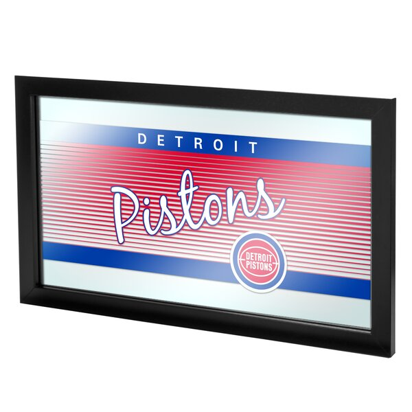 NBA Hardwood Classics Framed Logo Wall Mirror by T