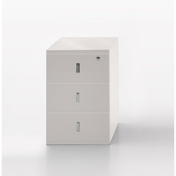 Glorenza 3 Drawer Vertical Filing Cabinet by Argo Furniture