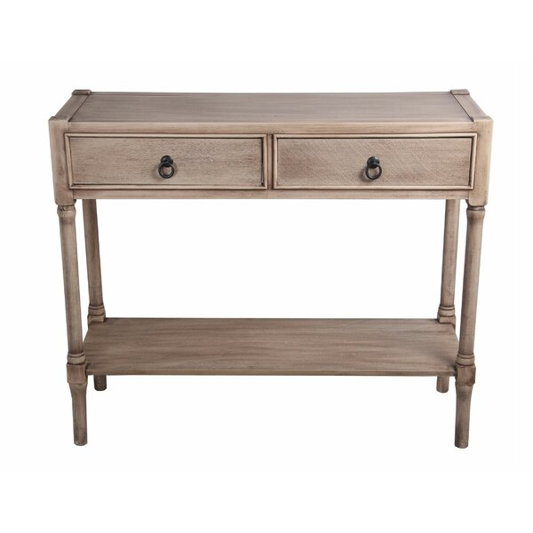August Grove Wood Console Tables