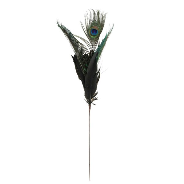 Christmas Peacock Feather Pick by The Holiday Aisle