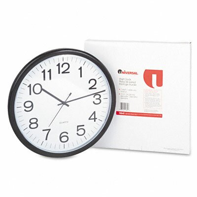 13.5 Wall Clock by Universal®