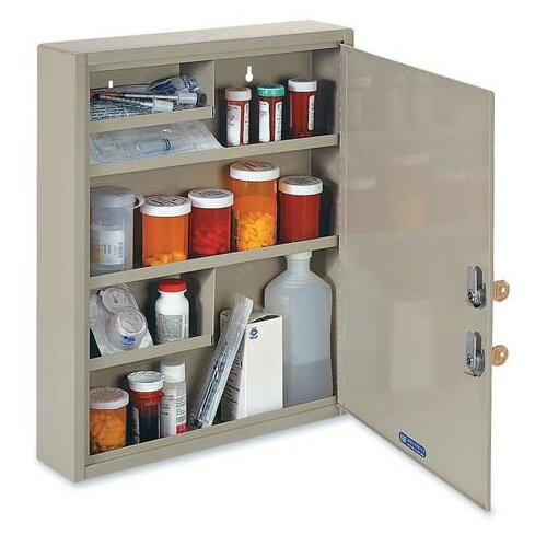 Drug 18.1 x 15.9  Wall Mounted Cabinet by MMF Industries