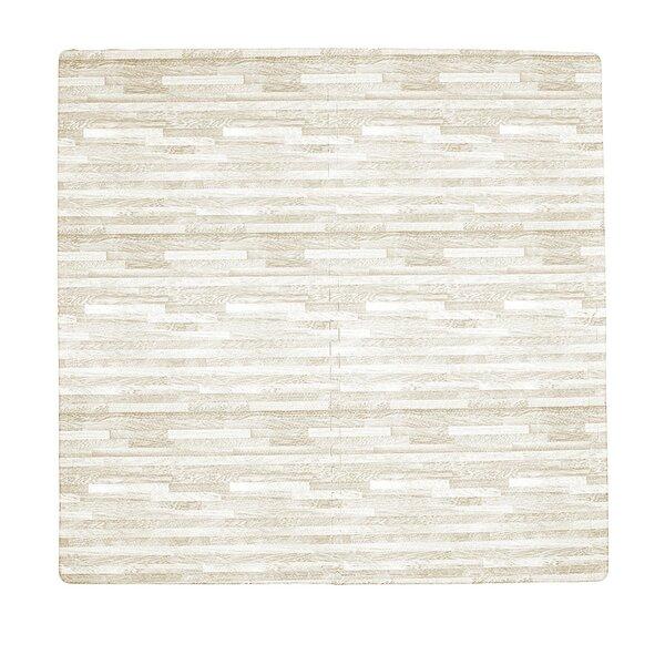 Wood Grain 4 Piece Floor Mat Set by Tadpoles