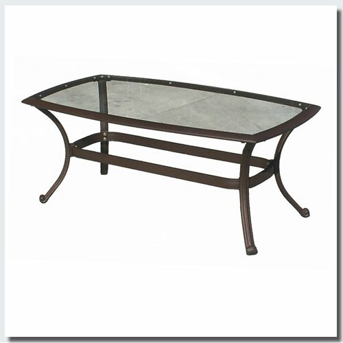 Massimo Glass Coffee Table by Winston Porter