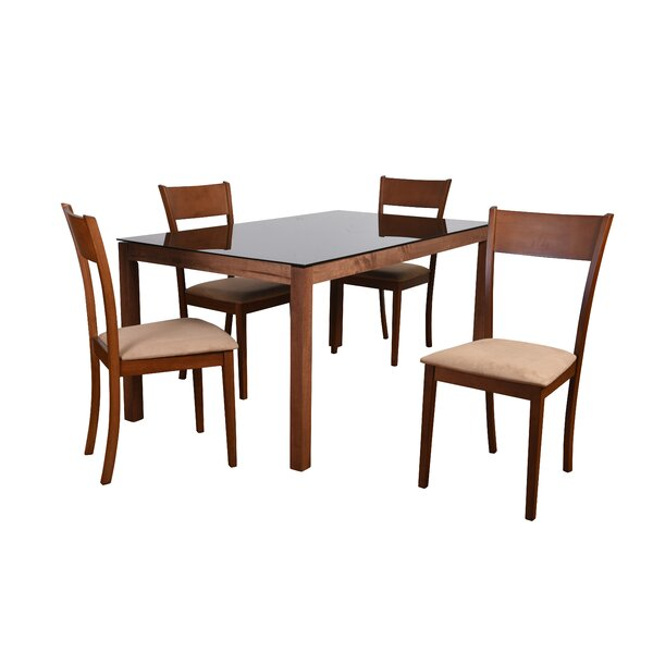 Roosevelt 5 Piece Rectangular Dining Set by Corrigan Studio