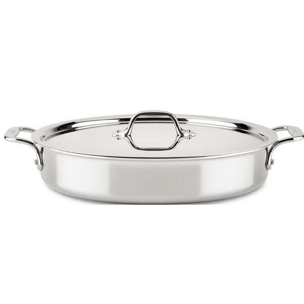 D3 Compact 4.5 Qt. Round Dutch Oven by All-Clad
