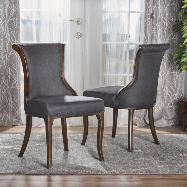 Glenhaven Upholstered Dining Chair (Set of 2) by Bloomsbury Market