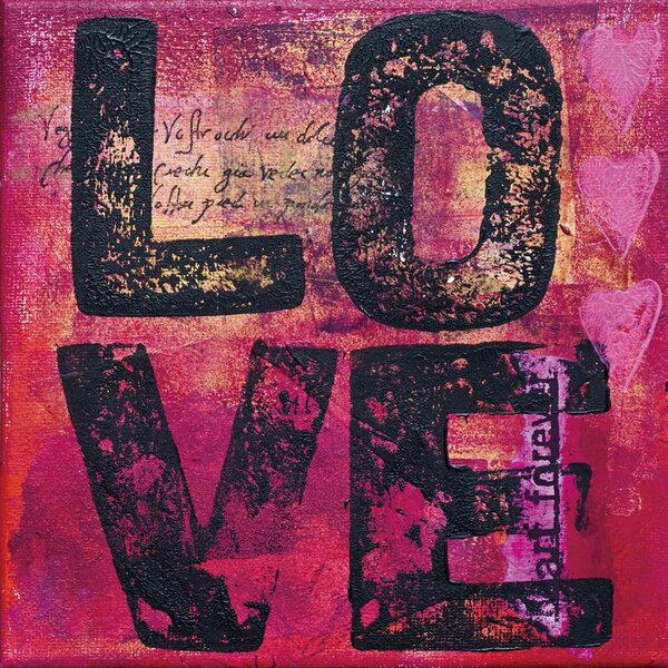 All You Need Is Love Textual Art by Cortesi Home