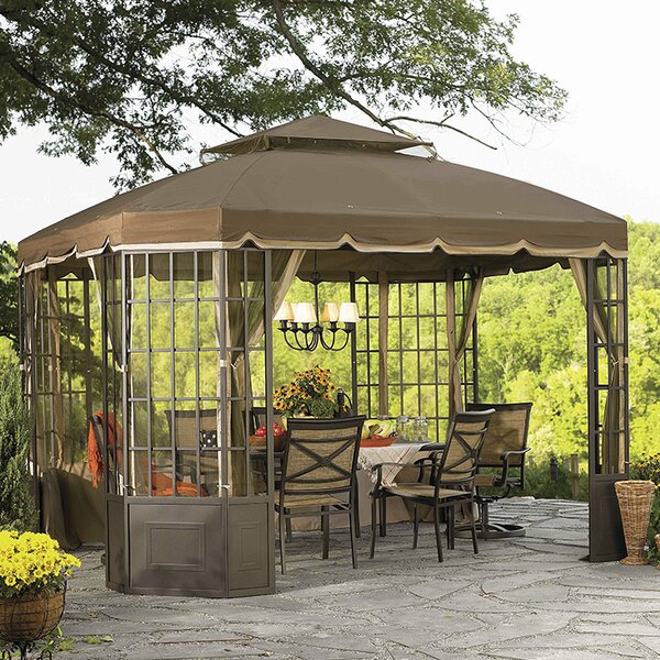 Replacement Mosquito Netting for Go Bay Window Gazebo by Sunjoy