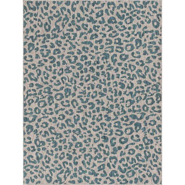 Murph Blue/Gray Indoor/Outdoor Area Rug by House of Hampton
