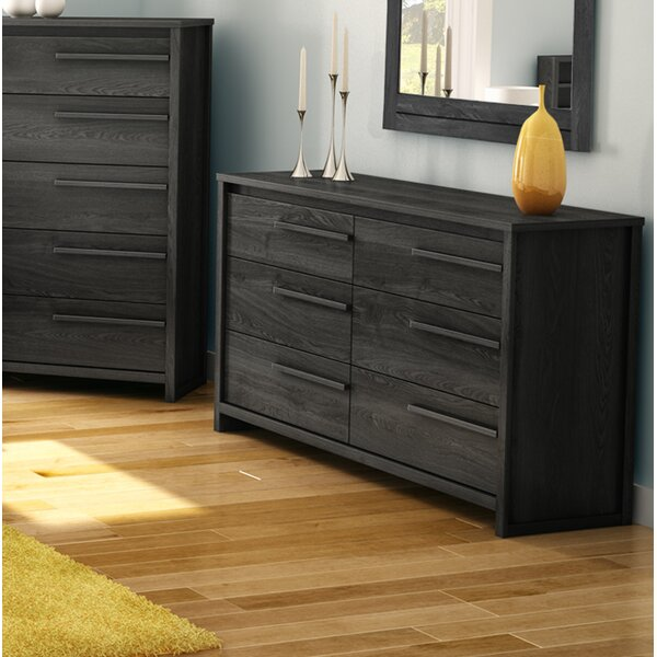 Tao 6 Drawer Double Dresser by South Shore