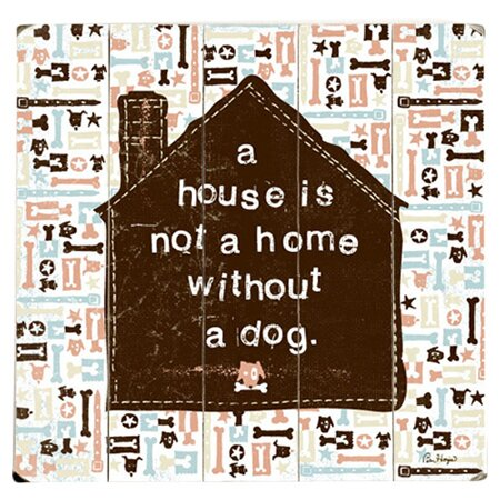 Make House a Home Graphic Art Print Multi-Piece Image on Wood by Artehouse LLC