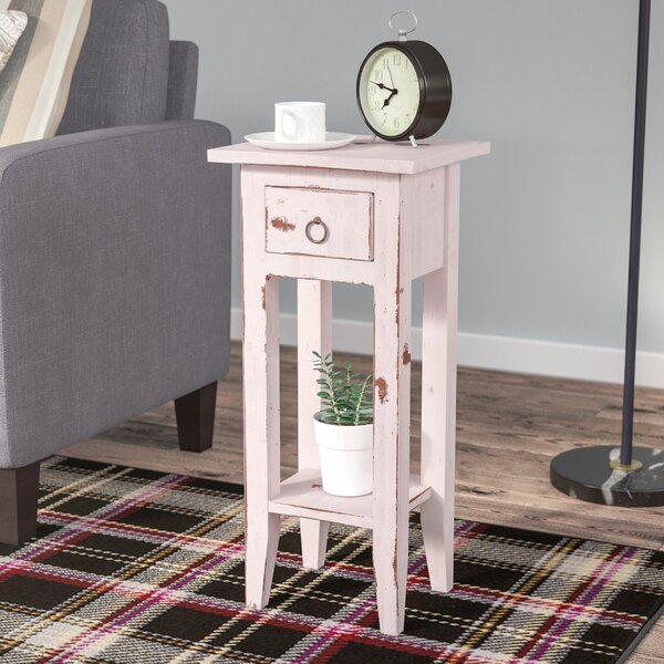 Tompkins Cottage Narrow End Table With Storage By Laurel Foundry Modern Farmhouse
