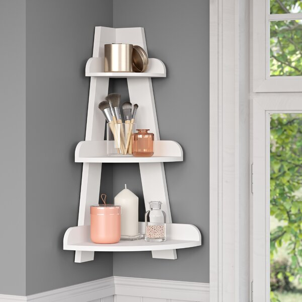 Tuskahoma 15.5 W x 25.75 H x 11.5 D Wall Mounted Bathroom Shelves