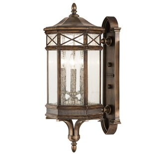Compare & Buy Holland Park 3-Light Outdoor Sconce By Fine Art Lamps