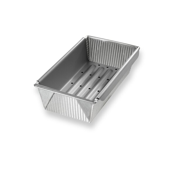 Non-Stick Meat Loaf Pan with Insert by USA Pan