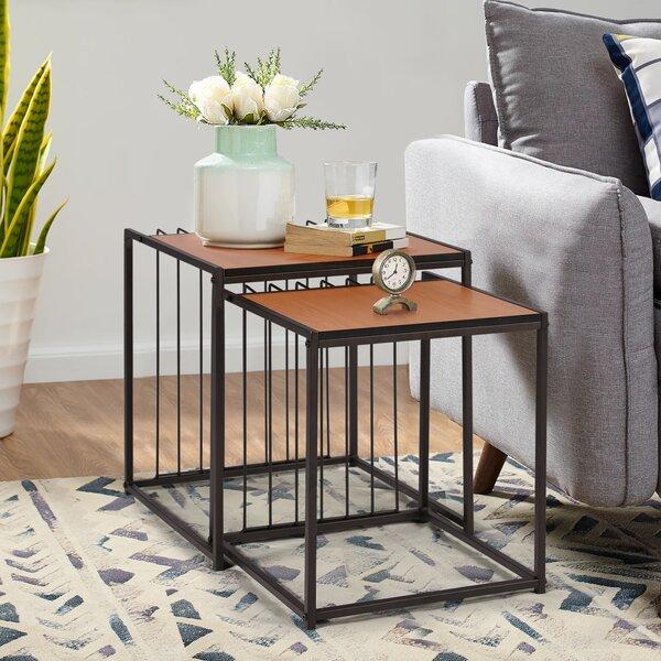 Berkey Nesting Tables (Set Of 2) By Brayden Studio
