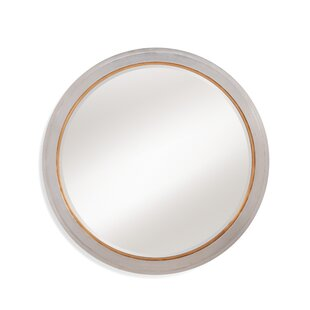 Everly Quinn Round Resin Wall Mirror