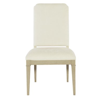 Place Upholstered Side Chair In White Product Photo