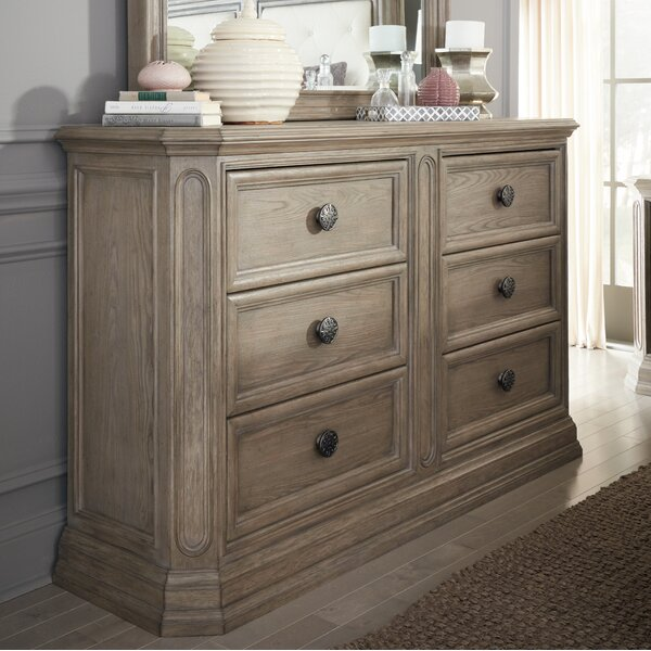 Thaxted 6 Drawer Double Dresser by Darby Home Co