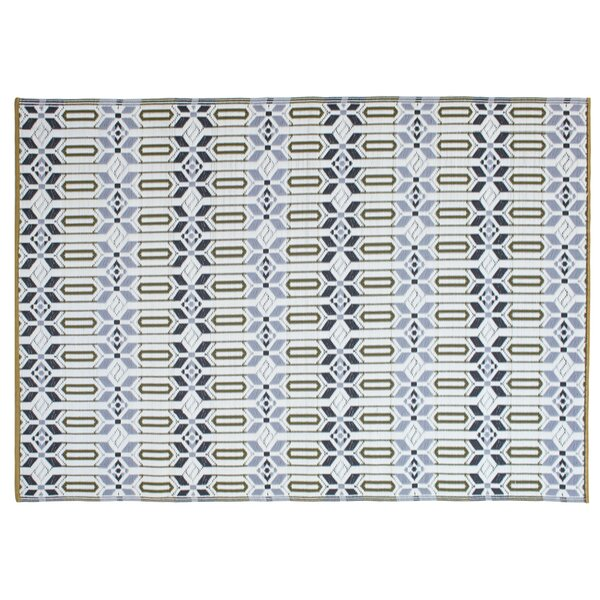 Tahnaout Hand-Woven Gray Area Rug by World Menagerie