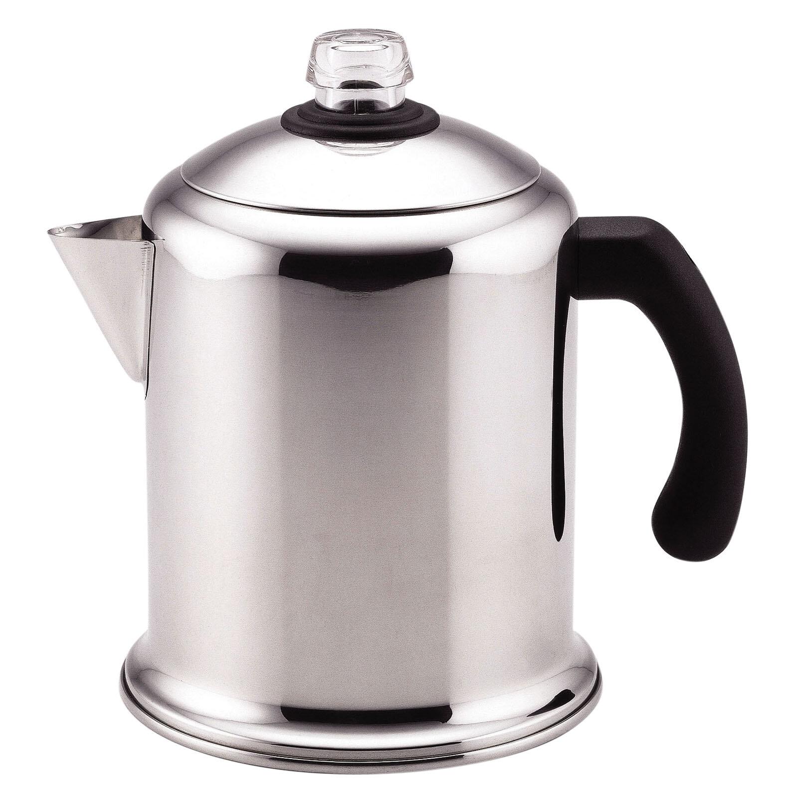 Farberware 8 Cup Clic Yosemite Stovetop Coffee Maker Reviews Wayfair