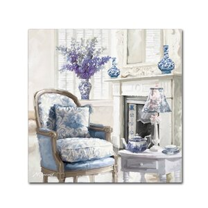 'Blue Room' Print on Canvas by Trademark Fine Art