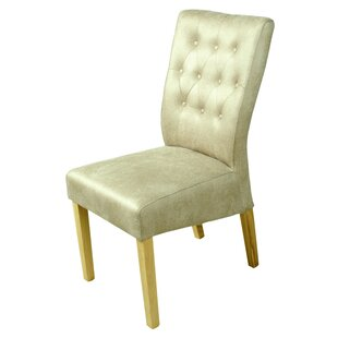 Carla Tall Back Button Upholstered Dining Chair ...