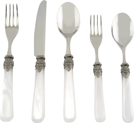 Napoleon 5 Piece Flatware Set by EME Italian Flatware