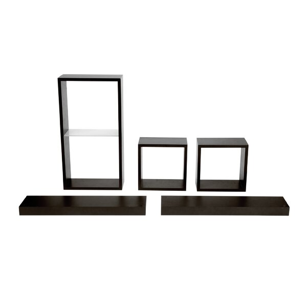 Metts 5 Piece Wall Shelf Set by Red Barrel Studio