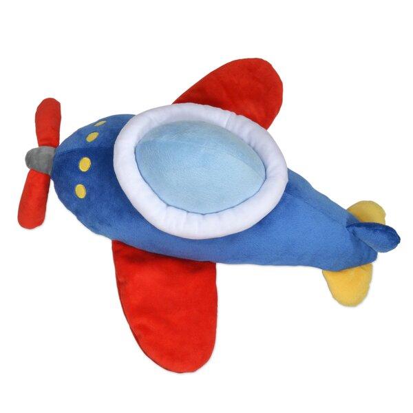 Kaylie Plane Throw Pillow by Zoomie Kids