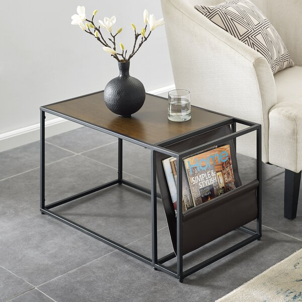Jeske Magazine End Table by Union Rustic