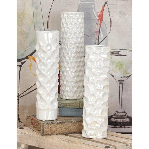 3 Piece Table Vase Set by Cole & Grey